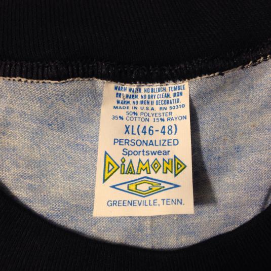 Vintage 1970's-1980's rayon blend North Carolina t-shirt