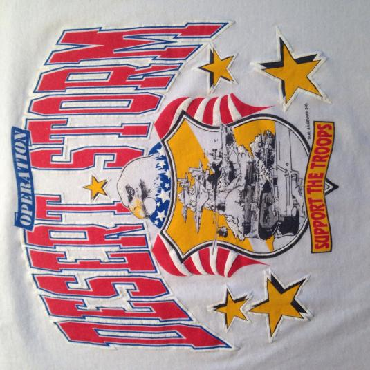 Vintage 1991 Operation Desert Storm soft & thin t-shirt