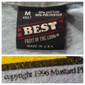 Vintage 1996 Mustard Plug ska band t-shirt