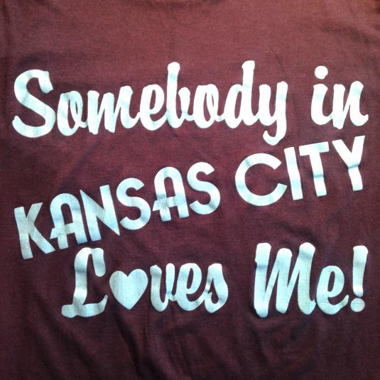 Vintage Someone In Kansas City Loves Me 1980's t-shirt