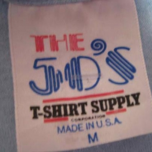 Vintage 1980's corporate ski trip t-shirt, S M