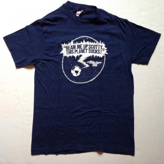 Vintage 1980's funny Star Trek t-shirt