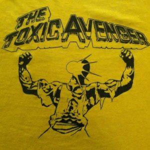 Vintage 1980's Troma Toxic Avenger movie t-shirt