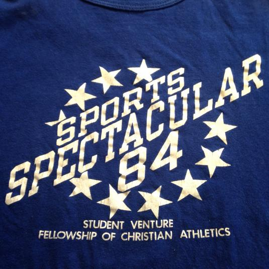1984 Sports Spectacular Christian Athletics t-shirt