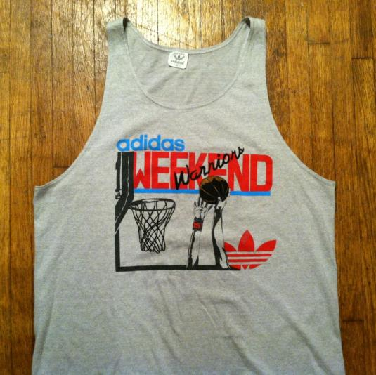 Vintage 1980's Adidas basketball tank top