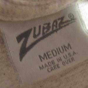 1990's Zubaz brand New Jersey Devils t-shirt, medium