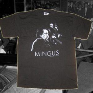 Vintage 1990's Charles Mingus t-shirt, XL-XXL