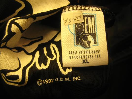 Vintage Black Sheep t-shirt rap hip hop nos deadstock rare