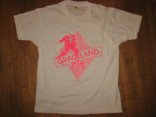 Vintage 1980s Graceland t-shirt, soft and thin