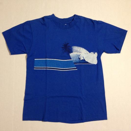 Vintage 1980's Blue Hawaii surfing t-shirt