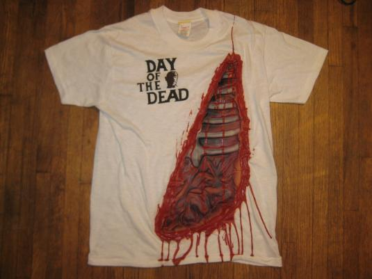 Vintage 1980's Day of the Dead 3D movie t-shirt, M