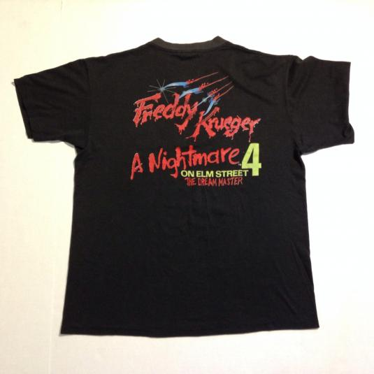 Vintage 1988 Freddy Krueger Nightmare on Elm Street t-shirt