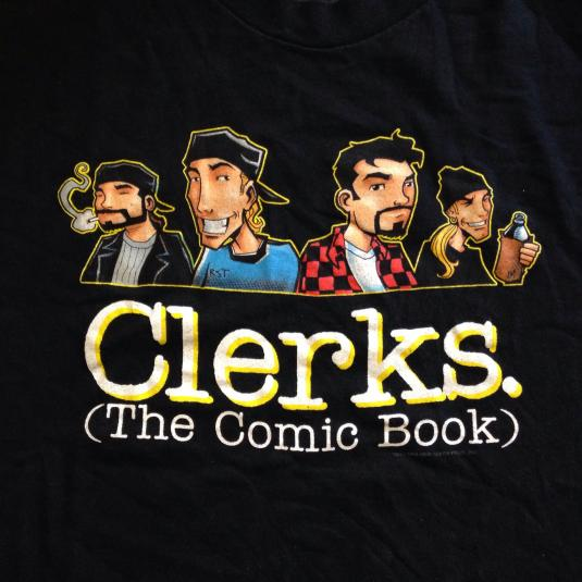 Vintage CLERKS The Comic Book Kevin Smith t-shirt