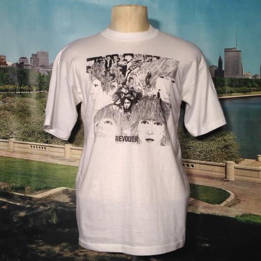 Vintage 1980's The Beatles Revolver t-shirt