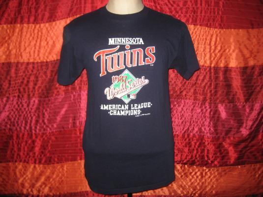 Vintage 1987 Minnesota Twins t-shirt, Large
