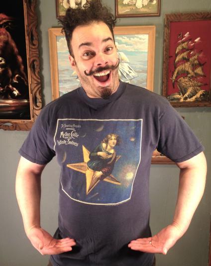 Vintage 1995 Smashing Pumpkins Infinte Sadness tour t-shirt
