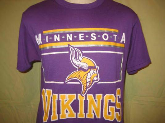 1980's Champion brand MN Vikings vintage t-shirt, L