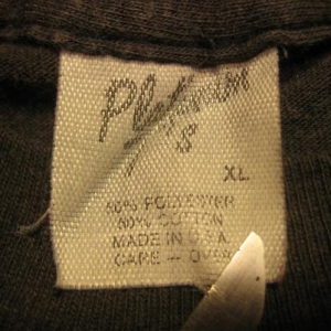 "Vintage 1980's ""Shit Happens"" funny t-shirt, soft & thin XL"