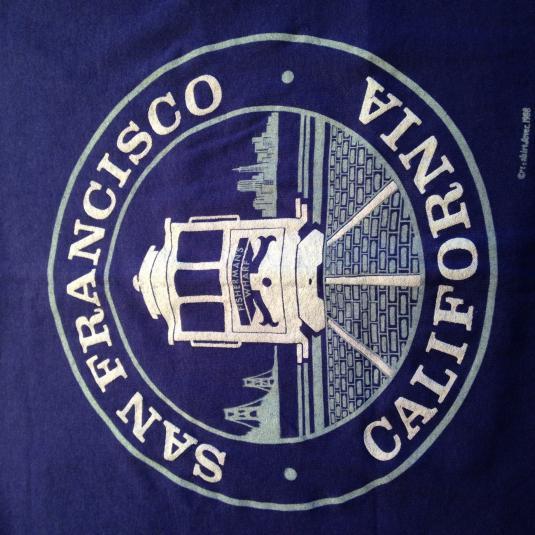 Vintage 1980's San Francisco California t-shirt