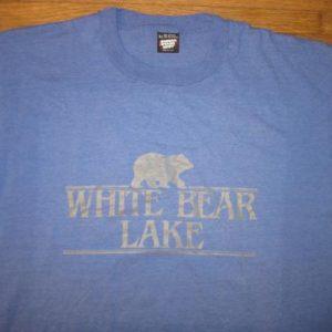 Vintage Late 1980's White Bear Lake, MN t-shirt, XL
