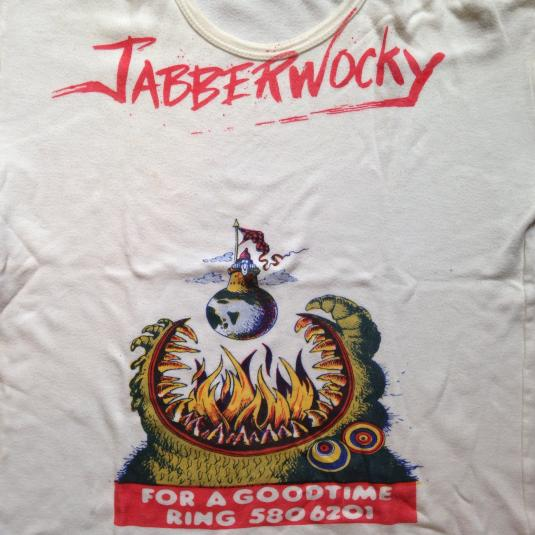 Vintage 1970's JABBERWOCKY Terry Gilliam movie t-shirt