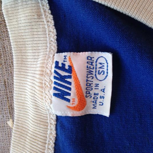 Vintage 1980's Nike orange tag t-shirt