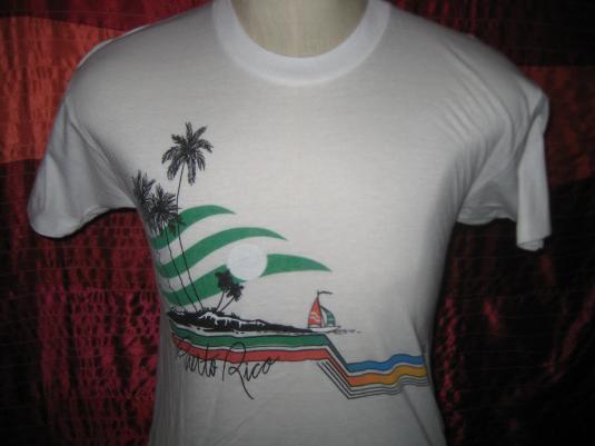 Vintage 1980s Purto Rico t-shirt, M L