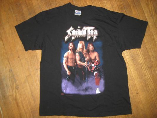 "Vintage 1992 Spinal Tap ""tour"" t-shirt"