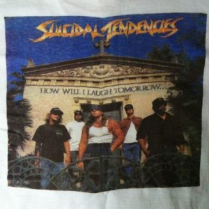 Vintage 1988 Suicidal Tendencies thrash metal t-shirt