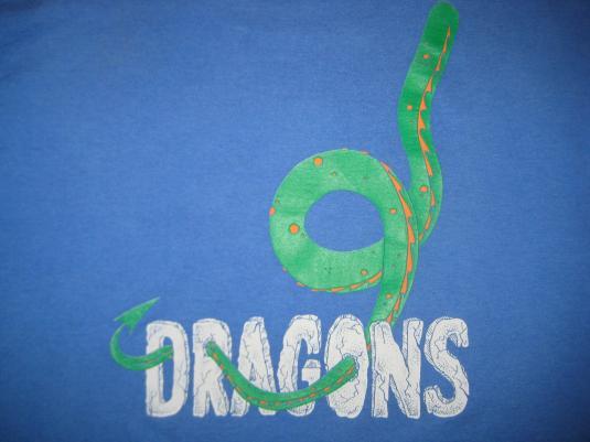 Vintage 1990s Dragon t-shirt, large