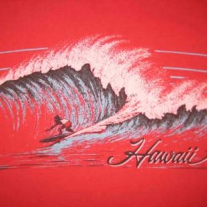 Vintage 1980's surf Hawaii t-shirt, M L