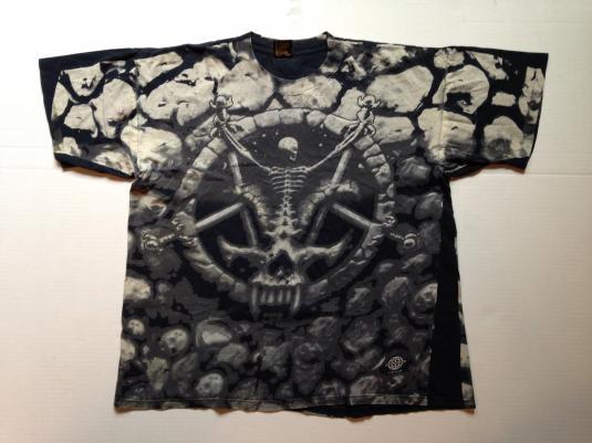 Vintage 94 SLAYER Divine Intervention all-over print t-shirt