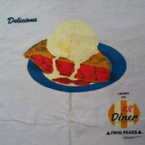 Vintage 1990 Twin Peaks David Lynch t-shirt