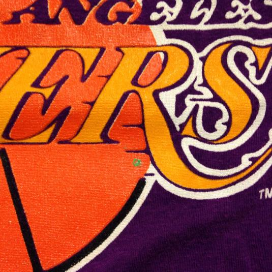 Vintage 1980's Los Angeles Lakers t-shirt