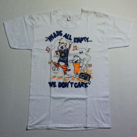 Vintage 1980's Calvin and Hobbs, Grateful Dead t-shirt