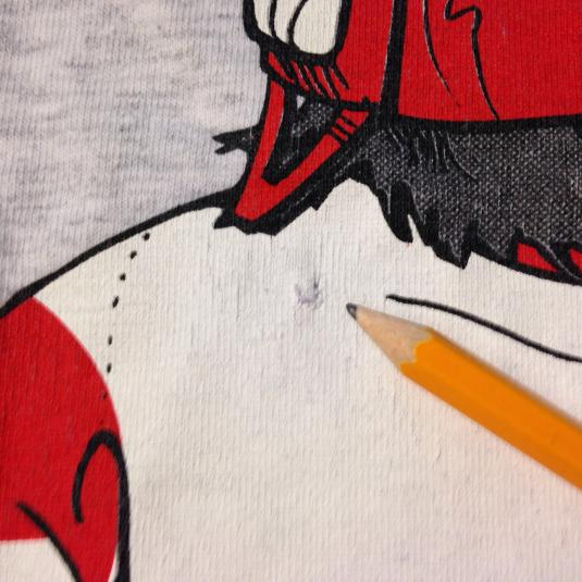 Vintage 1994 Detroit Redwings hockey t-shirt