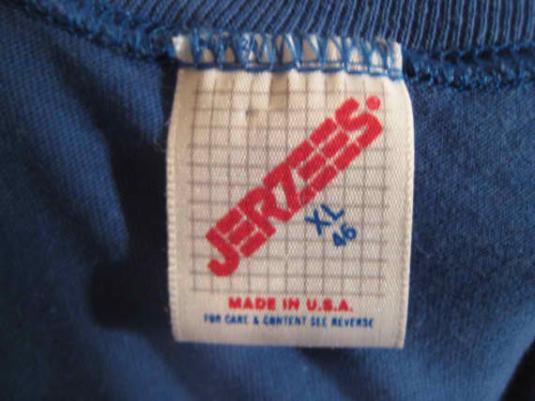 Vintage 80's t-shirt, farting Alaskan fish, L XL