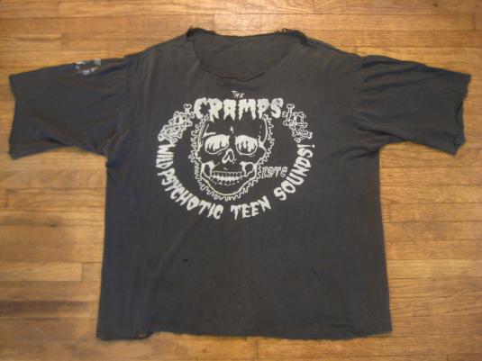 Rarest ever! Vintage The Cramps t-shirt, 1980-1983