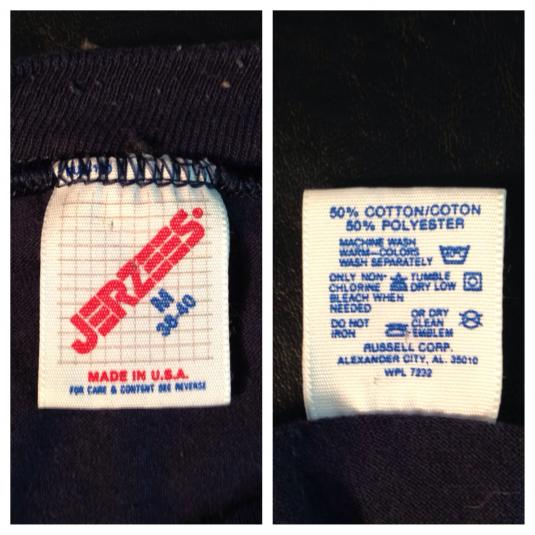 Vintage Funny 1980's hunting & fishing t-shirt