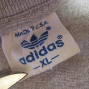 Vintage 1980's Adidas t-shirt, XL