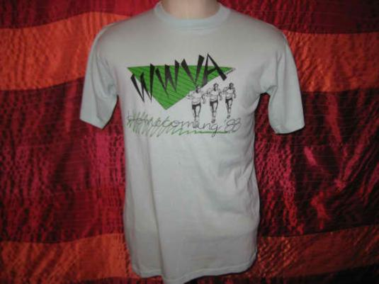 Vintage 1988 t-shirt, homecoming, soft and thin, M L