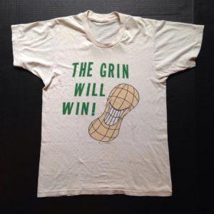 Vintage 1976 Jimmy Carter presidential election t-shirt