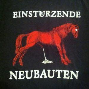 Vintage 1989 Einsturzende Neubauten industrial band t-shirt