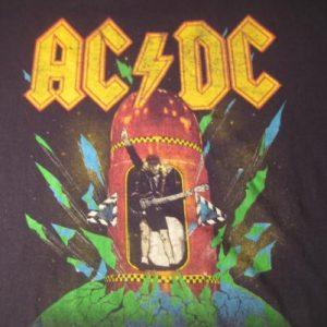 1988 AC-DC vintage t-shirt, large