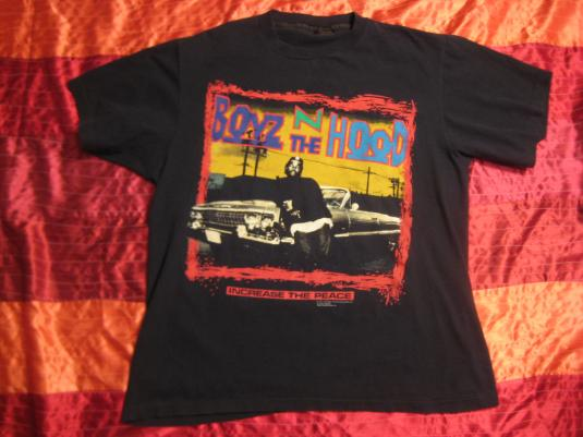 Original vintage 1991 Ice Cube Boyz N The Hood tshirt, XL