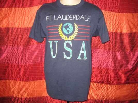 Vintage 90s Fort Lauderdale t-shirt, large
