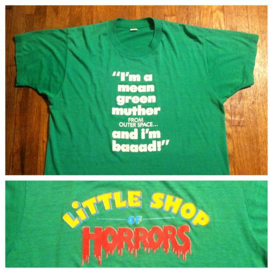 Vintage 1980's LITTLE SHOP OF HORRORS t-shirt