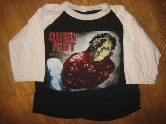 Vintage 1980's Quiet Riot raglan t-shirt