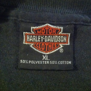 Vintage Harley Davidson Native American motorcycle t-shirt