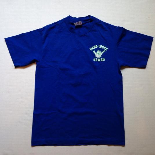 Vintage 1980's Hang Loose Hawaii t-shirt